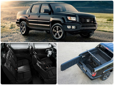 With Its Spacious Interior And Innovative Rear Cargo Bed, The 2014 Honda  Ridgeline Is Among