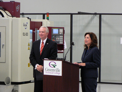 Secretary of Labor announces grant funding at Greenville Technical College aimed at expanding job training through local employer partnerships