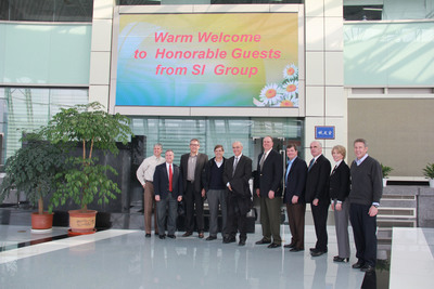 SI Group Executives Visit Nanjing Chemical Industry Park.  (PRNewsFoto/SI Group, Inc.)