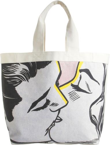 Lichtenstein Beach Bag, Kiss IV, 1962.  (PRNewsFoto/Barneys New York)