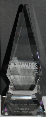 Xilinx receives prestigious 2013 EE Times and EDN ACE Award for the Vivado(R) Design Suite.  (PRNewsFoto/Xilinx, Inc.)