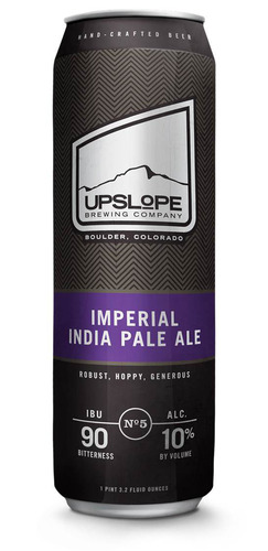 Upslope Brewing Company has partnered with can maker Ball Corporation to offer Upslope's new Imperial India Pale Ale in Ball's Royal Pint (568-mL or 19.2-oz.) aluminum can.  (PRNewsFoto/Ball Corporation)