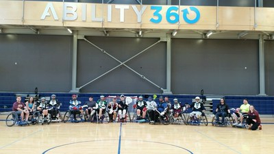Ability 360 was proud to host WWP Alumni for a wheelchair lacrosse clinic.