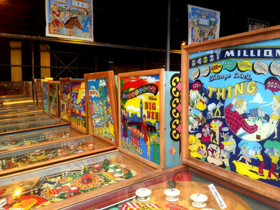 """The Largest Selection of Vintage Playable Pinball Machines in the World; """"Shoot The Moon,"""" The Pacific Pinball Museum Expo Returns on November 10-13, 2016"""