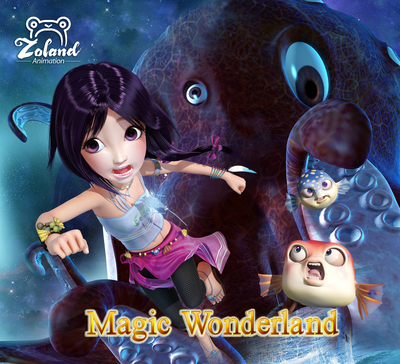 3D animation movie Magic Wonderland hits China cinema screens on May 30th 2014