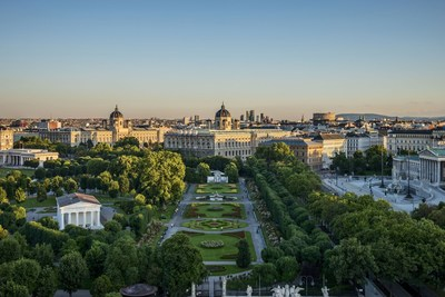 Vienna achieves 6th successive overnight record in 2015 (PRNewsFoto/Vienna Tourist Board)