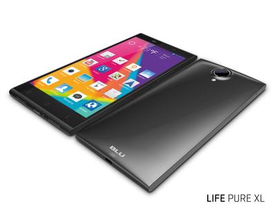 BLU Products LIFE PURE XL (PRNewsFoto/BLU Products)