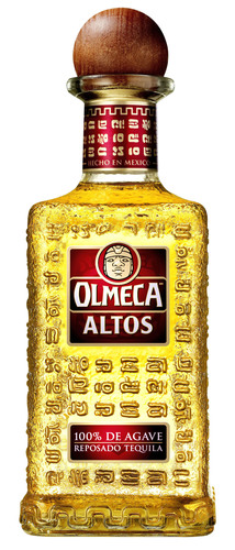 Olmeca Altos 100% Agave Tequila, available in Reposado or Blanco. (PRNewsFoto/Pernod Ricard)