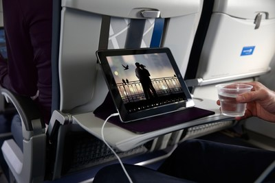 United Airlines launches free streaming entertainment on two-cabin regional jets