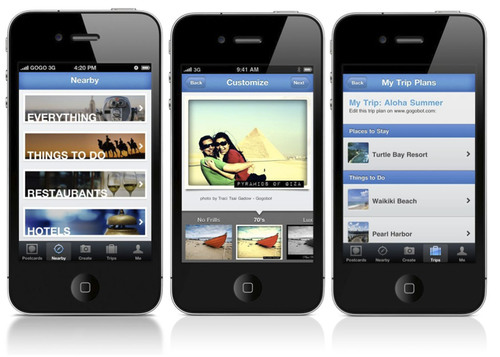 Gogobot Brings Popular Social Travel Service to iPhone with New App.  (PRNewsFoto/Gogobot)