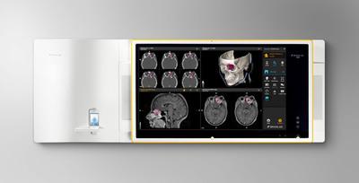 Brainlab, Buzz(TM) Digital OR.  (PRNewsFoto/Brainlab)