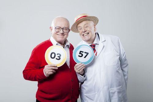 Coronation Street's Reg and Fred now gaming exclusively at Gala Bingo.com (PRNewsFoto/GalaBingo.com)