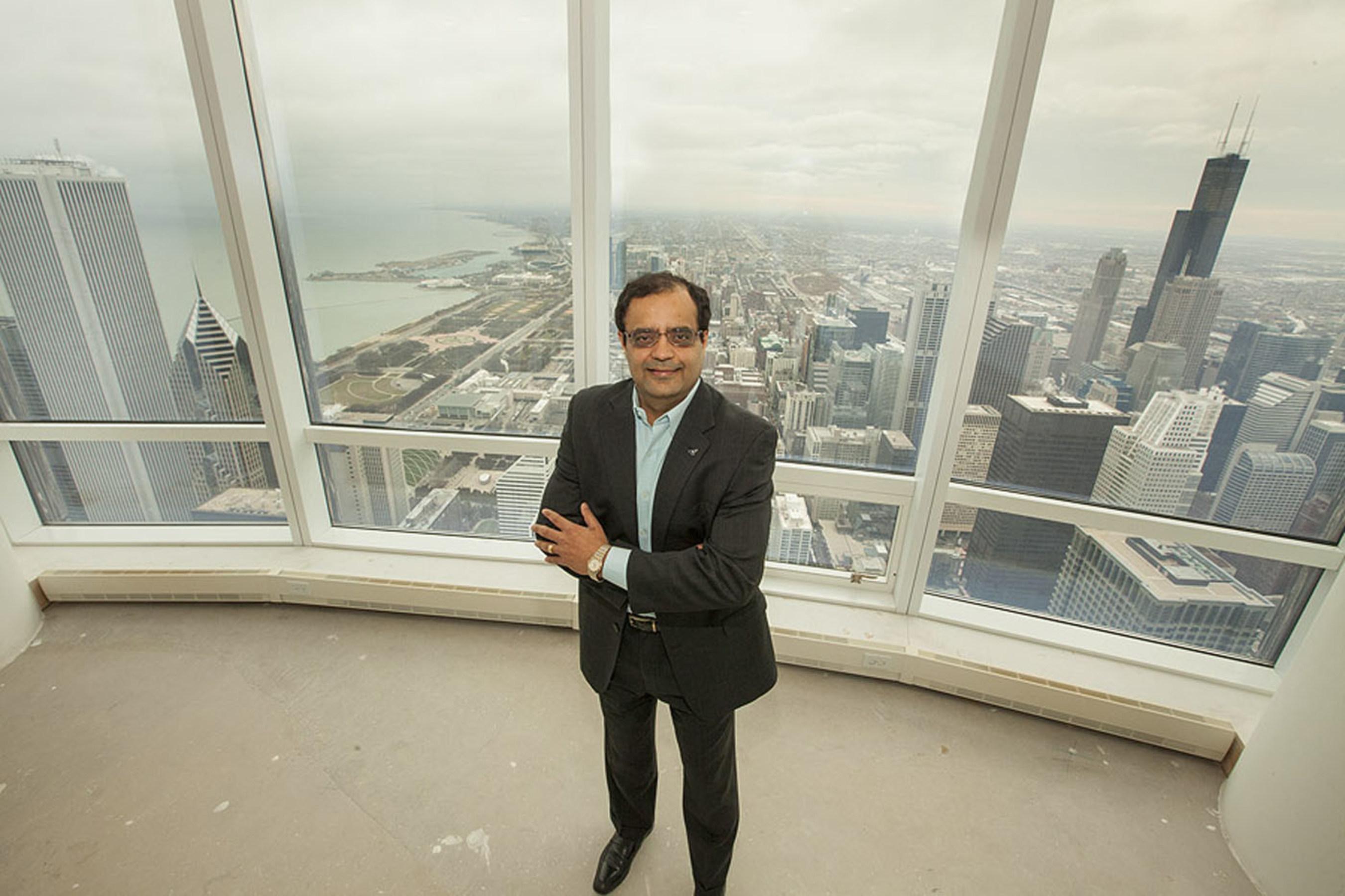 Sanjay Shah, Technologie-Pionier aus dem Großraum Chicago, dringt mit dem Erwerb des Trump
