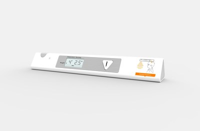 The InBody PUSH with height measurement displayed on-screen