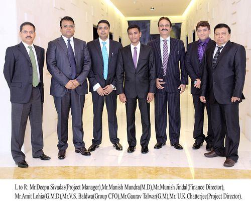 Indorama 's executive management team in Dubai (PRNewsFoto/INDORAMA ELEME)