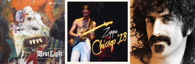 Three new Frank Zappa albums will be released this Friday, November 4 via Zappa Records/UMe: 'Meat Light' (Uncle Meat Deluxe Project/Object Edition, previously unreleased live concert 'Chicago '78' and 'Little Dots' from the famed Petit Wazoo tour.