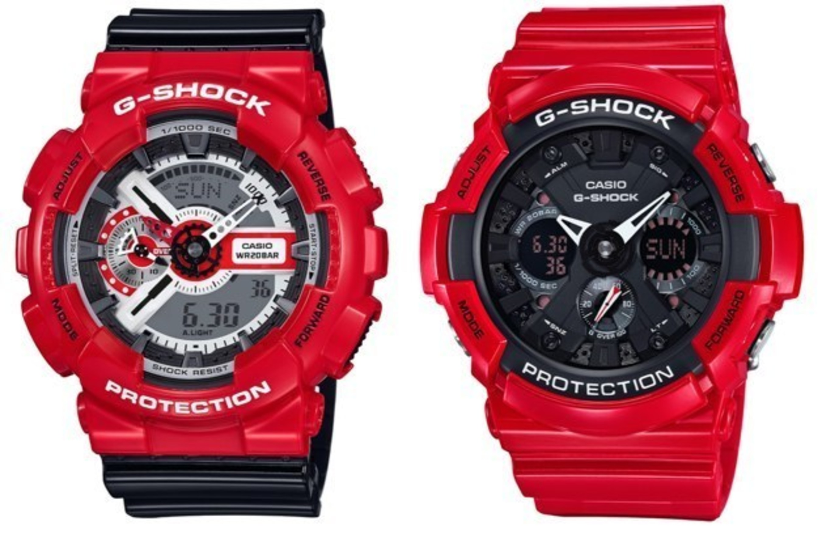FALL IN LOVE WITH G-SHOCK FOR VALENTINES DAY - RED COLOR THEME