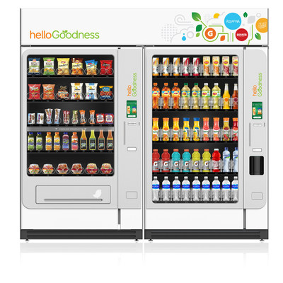 PepsiCo's state-of-the-art food and beverage vending initiative called