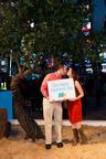 One Happy Valentine's Day on Aruba's pop-up beach in Times Square. Aruba.com.  (PRNewsFoto/Aruba Tourism Authority)