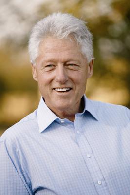 President Bill Clinton.  (PRNewsFoto/T.J. Martell Foundation)