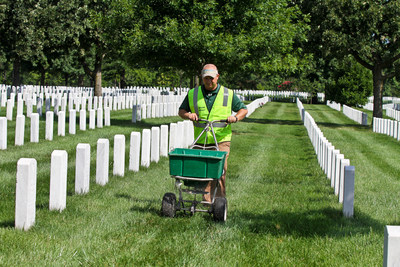 Hundreds of landscape professionals will donate their services to care for the grounds of historic Arlington National Cemetery on Monday, July 20, 2015. Organized by the National Association of Landscape Professionals (NALP), Renewal and Remembrance will involve more than 400 volunteer landscape professionals. More than 200 of the cemetery's 624 acres will be touched by the volunteers. Photo by NALP/Philippe Nobile Photography.