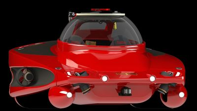 The HP Sport Sub 2 heralds a new generation of ultra-compact, high-performance personal submersibles. (PRNewsFoto/U-Boat Worx)