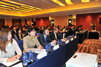 Promotions for the 14th WCIF held in Beijing, Guangzhou and Shanghai