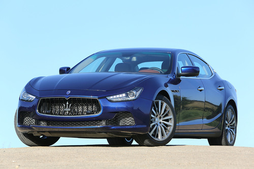 The Insurance Institute of Highway Safety today named the 2014 Maserati Ghibli a Top Safety Pick after the ...