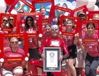 Spin Master employees in Toronto, New York, Los Angeles and Mexico City secured a GUINNESS WORLD RECORDS title for Most People Drawing on an Etch A Sketch Globally. Spin Master acquired the iconic toy brand earlier this year.