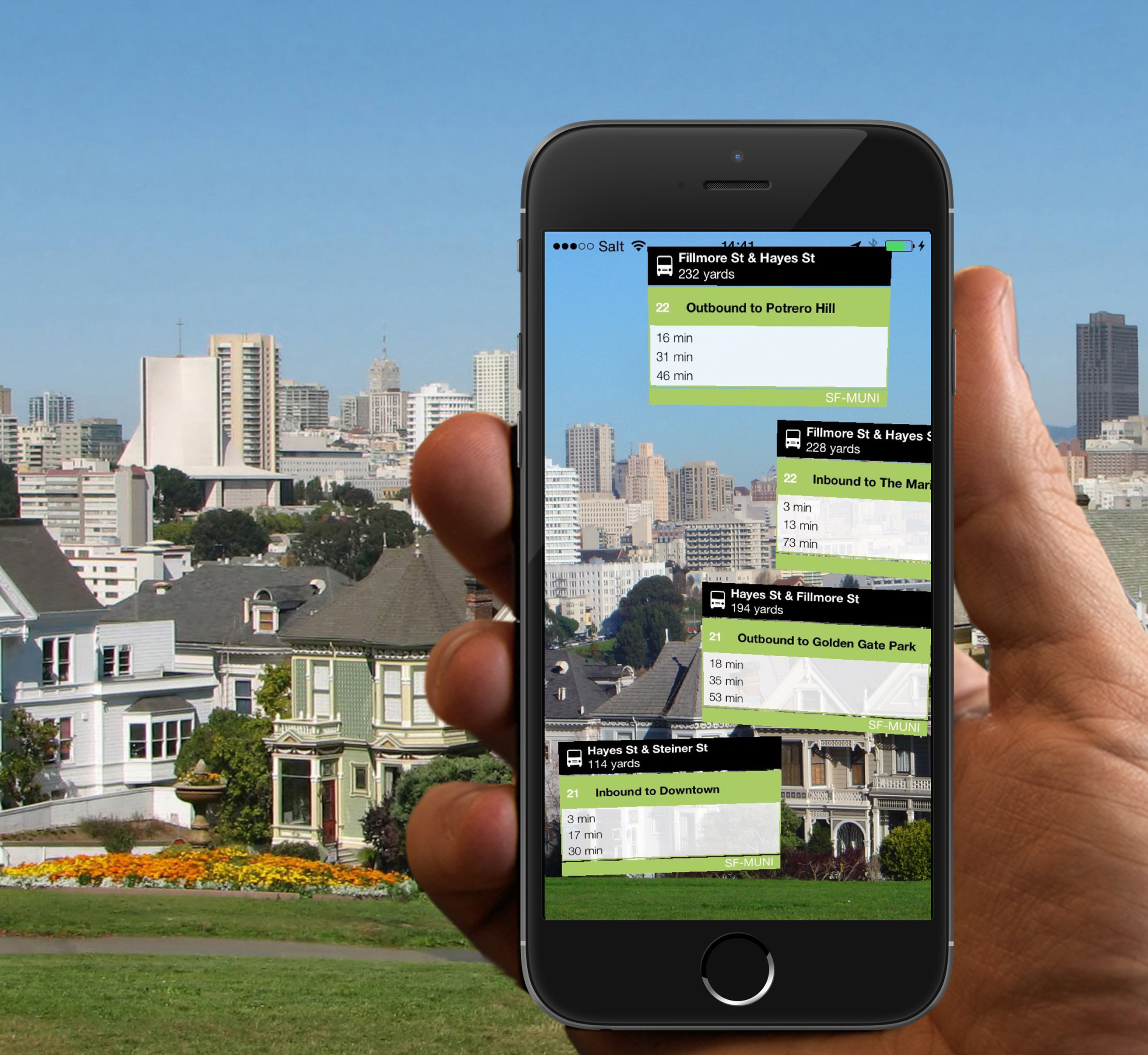 Not One But Three Prizes for SF Bay Area Commuter App