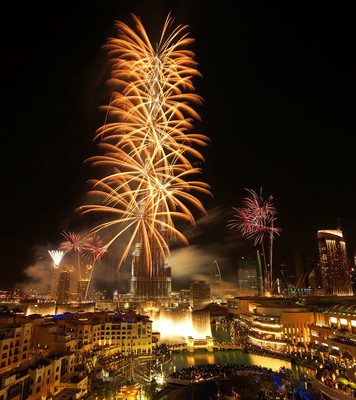 Downtown Dubai New Year's Eve Gala 2014.  (PRNewsFoto/Emaar Properties)