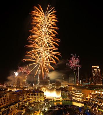 Downtown Dubai New Year's Eve Gala 2014. (PRNewsFoto/Emaar Properties) (PRNewsFoto/EMAAR PROPERTIES)