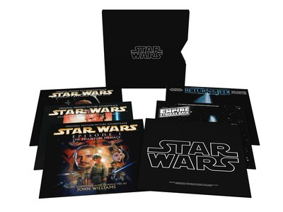 Star Wars: The Ultimate Vinyl Collection (11 LPs) - available now