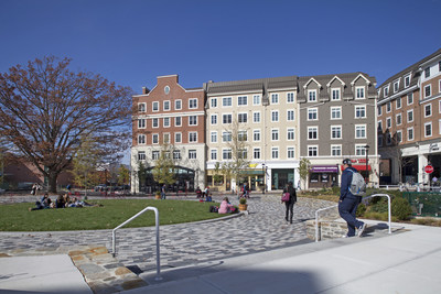 The Oaks on the Square at Storrs Center next to the University of Connecticut campus recently won the AUREO Award of Excellence.