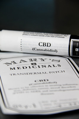 CBD Transdermal Patch and Gel Pen developed by Mary's Medicinals