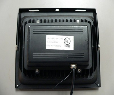 2. UL Warns of Counterfeit UL Mark on LED Floodlight (Release No 15PN-12)