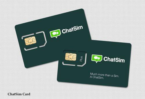 ChatSim Card (PRNewsFoto/ChatSim and Brightstar)