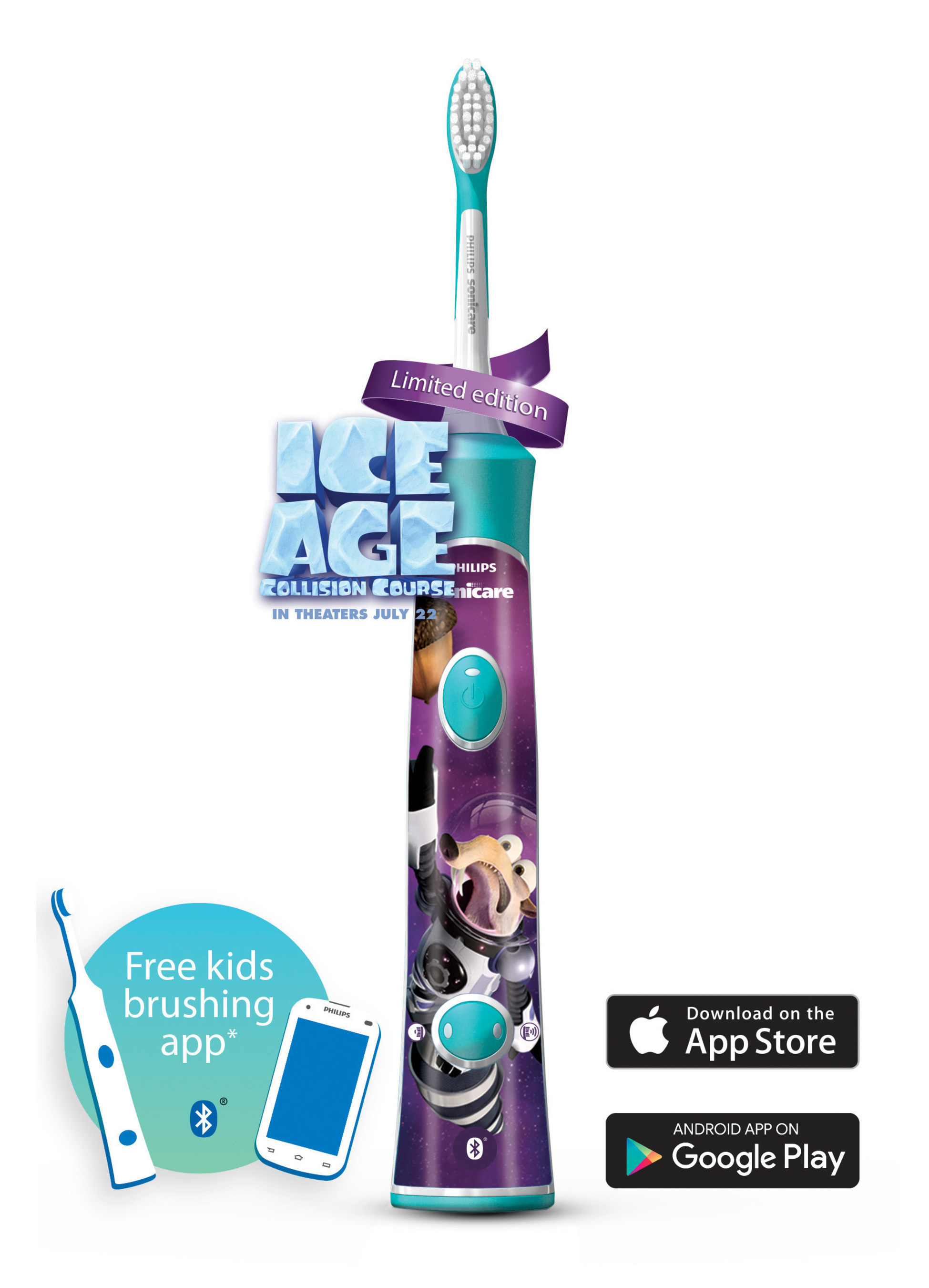 Philips Sonicare For Kids Ice Age: Collision Course.