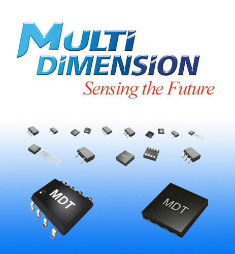 MultiDimension - MDT: Your Trusted Partner for Advanced Sensor Technology. (PRNewsFoto/MultiDimension Technology)
