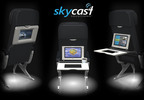 Skycast Solutions Launches First In-Tray Inflight Entertainment System for Airlines.  (PRNewsFoto/Skycast Solutions)
