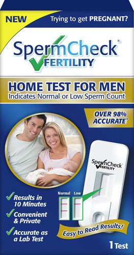 SpermCheck Fertility Home Test for Men (PRNewsFoto/SpermCheck)