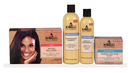 DR. MIRACLE'S EVOLVES BEYOND HAIR REPAIR: NEW LOOK, NEW FRAGRANCE & NEW PRODUCTS.  (PRNewsFoto/Dr. ...
