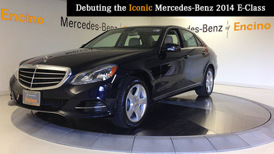 All new 2014 mercedes benz e class models make debut at for Mercedes benz of encino