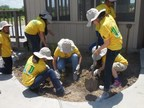 CITGO and CBBEP volunteers restore coastal habitats by planting native trees