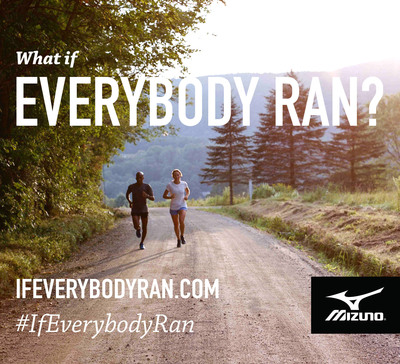 """""""What if Everybody Ran?"""" That's the question Mizuno Running posed to MBA students at the University of North Carolina (UNC). The unique analysis puts perspective on the potentially profound impact a nation of runners could have on many of the biggest issues and challenges facing American society today.  (PRNewsFoto/Mizuno USA)"""