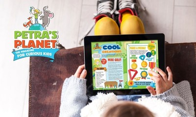 """Launch of """"Petra's Planet"""" Interactive e-Magazine for Children Brings Nordic Style Learning to the UK and Ireland"""