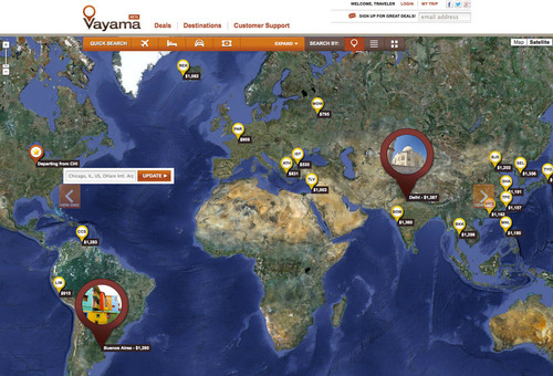Vayama Relaunches Brand; Introduces New Way to Shop for International Travel