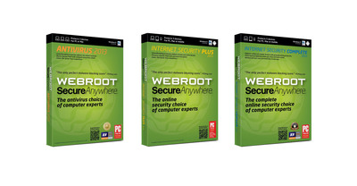 Latest Webroot® Solutions Provide Superior Security Without Compromise