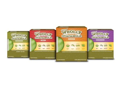 Wholly Guacamole is America's number one selling branded refrigerated guacamole