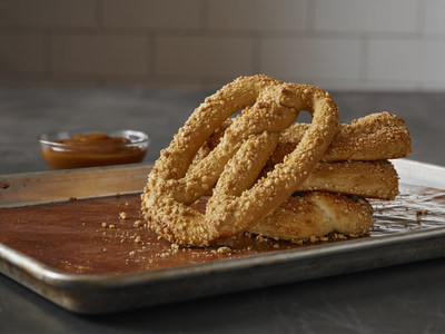 Go Nuts this Season with Pretzelmaker's Almond Crunch Pretzel